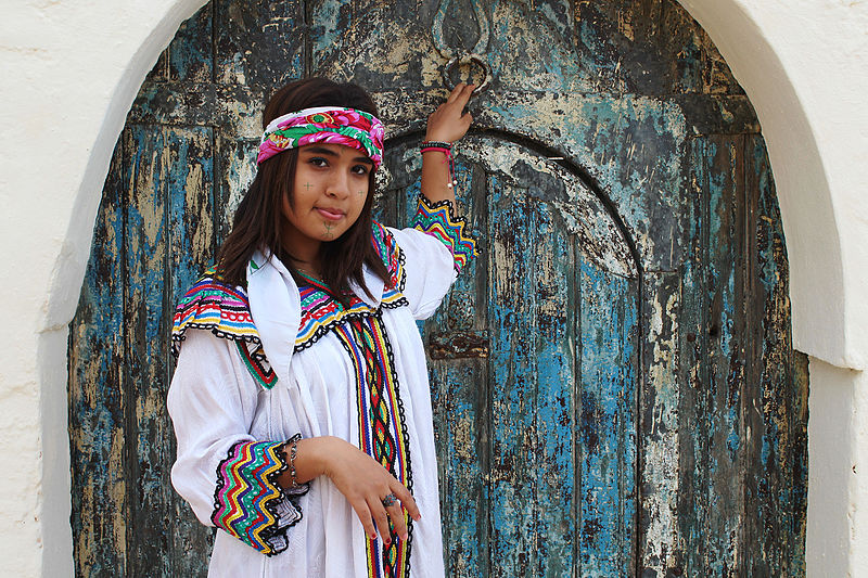 Habit traditionnel Amazigh